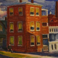 Houses Beside a River - Mary Welch (1)