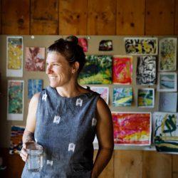 O'Brien_Profile. Photo Courtesy of Kate Dillon and Maine Farmland Trust Joseph Fiore Art Center